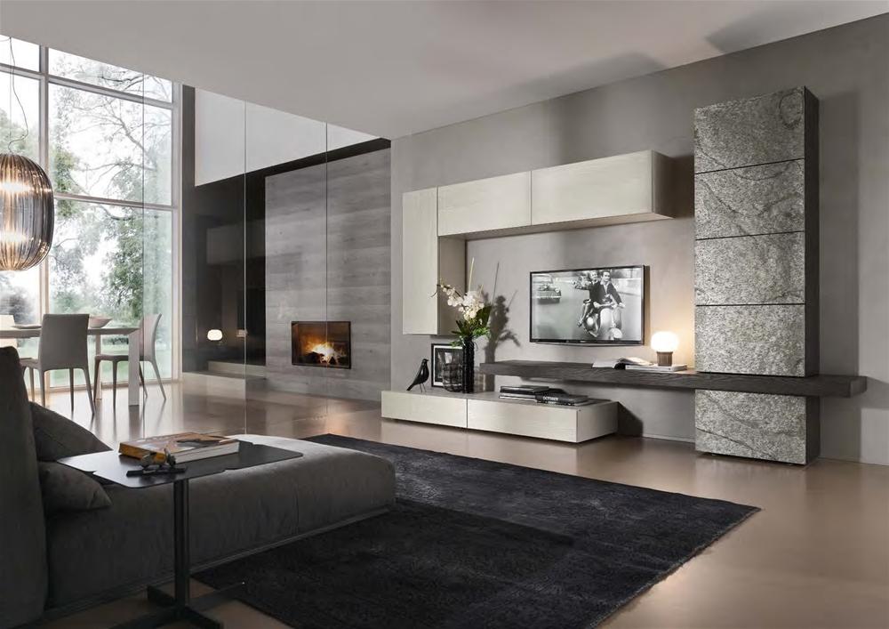 Tavoli per soggiorni moderni idee creative di interni e for Panciera arreda