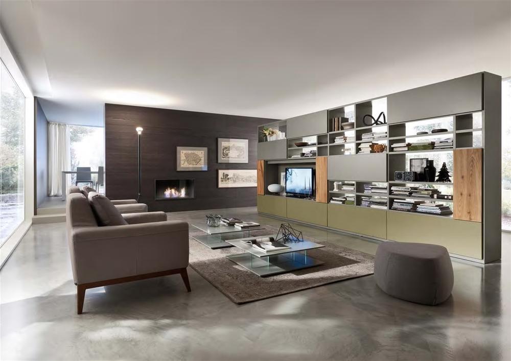 Extramobili arredamenti a bergamo cucine moderne for Soggiorni moderni di design